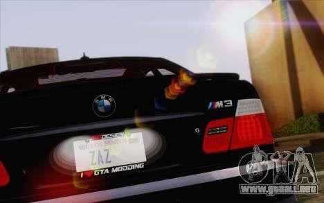IMFX Lensflare v2 para GTA San Andreas sexta pantalla