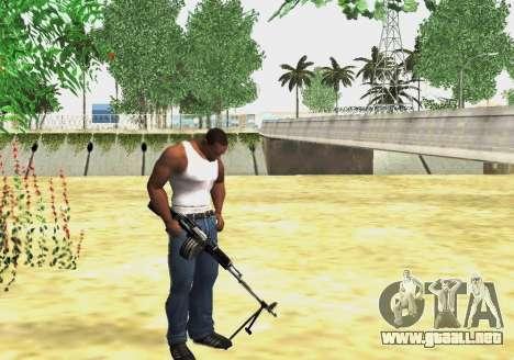 RPK-203 para GTA San Andreas tercera pantalla
