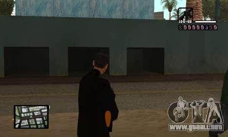 C-HUD by Miller para GTA San Andreas segunda pantalla