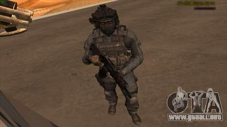 Sgt Keegan P.Russ из De Call of Duty: Ghosts para GTA San Andreas