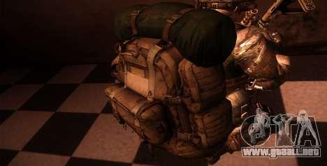 Рюкзак из MOH Warfighter para GTA San Andreas quinta pantalla