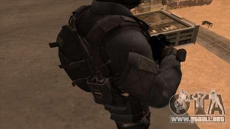 Sgt Keegan P.Russ из De Call of Duty: Ghosts para GTA San Andreas sexta pantalla