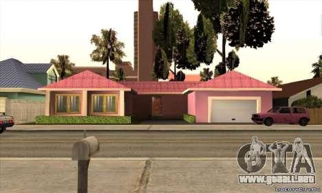 Nueva casa de Mili para GTA San Andreas