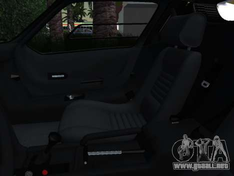 BMW M1 Turbo 1972 para GTA San Andreas interior
