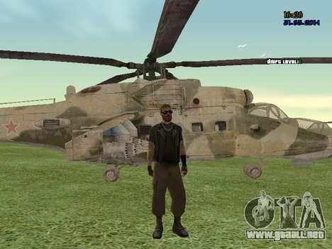 Mi-35M para la visión correcta GTA San Andreas
