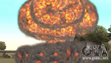 Ataque Nuclear para GTA San Andreas tercera pantalla
