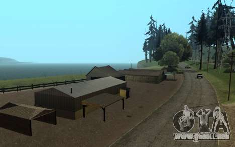 RoSA Project v1.4 Countryside SF para GTA San Andreas tercera pantalla