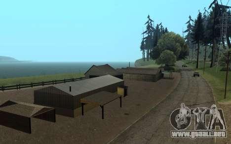 RoSA Project v1.4 Countryside SF para GTA San Andreas tercera pantalla