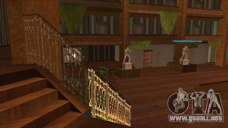 Textura Artium para GTA San Andreas sucesivamente de pantalla