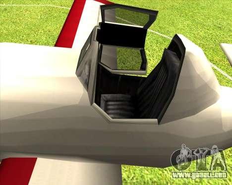 CD-38 mod.LP para GTA San Andreas vista hacia atrás