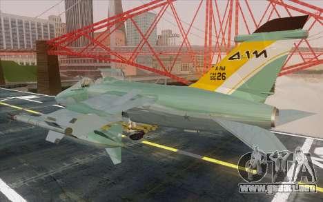 A-1M AMX para GTA San Andreas left