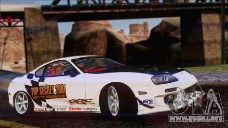 Toyota Supra 1998 Top Secret para GTA San Andreas