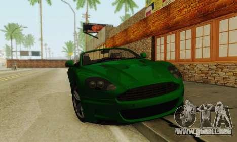 Aston Martin DBS Volante para GTA San Andreas left
