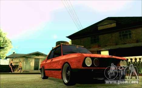 BMW M5 E28 RatStyle para visión interna GTA San Andreas