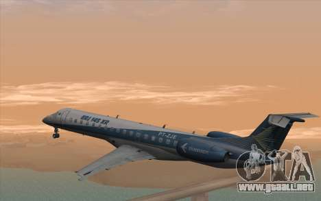 Embraer 145 Xp para GTA San Andreas left