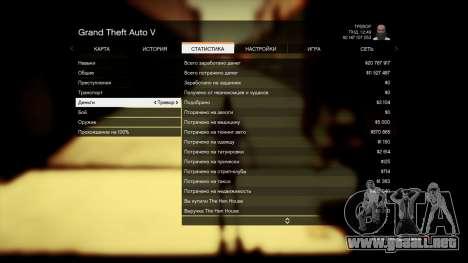 GTA 5 Guardar GTA 5 100% y más de 1 mil millones de Xb quinta captura de pantalla