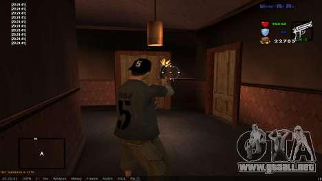 CLEO Skill for 0.3z new version para GTA San Andreas segunda pantalla