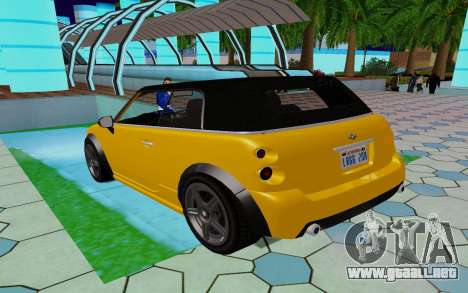 GTA 5 Weeny Issi V1.0 para GTA San Andreas vista posterior izquierda
