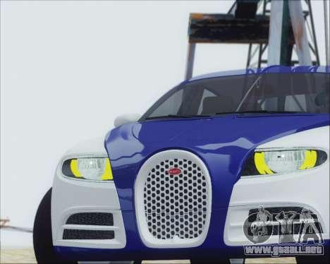 Bugatti Galibier 16c Final para la visión correcta GTA San Andreas