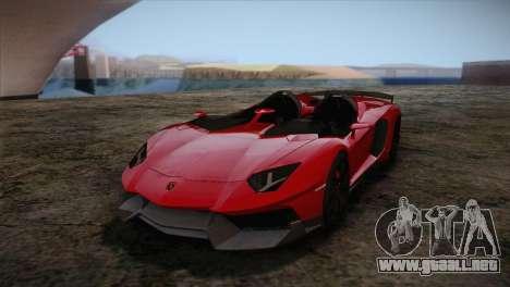 Lamborghini Aventandor J 2010 para GTA San Andreas left