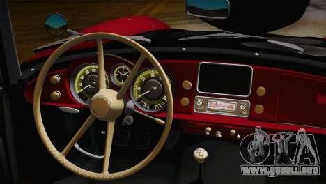 BMW 507 1959 Stock para la visión correcta GTA San Andreas