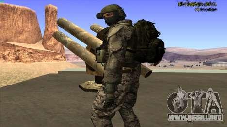 U.S. Navy Seal para GTA San Andreas séptima pantalla