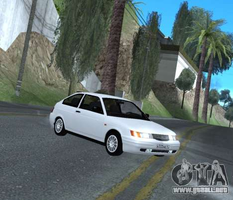 ВАЗ 2112 GVR Versión 1.1 para GTA San Andreas