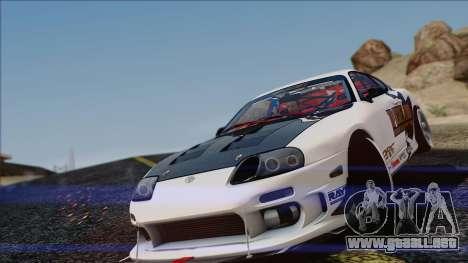 Toyota Supra 1998 Top Secret para GTA San Andreas left