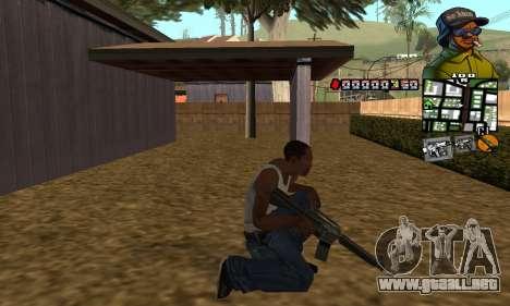 C-HUD Rider para GTA San Andreas tercera pantalla