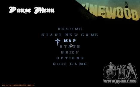 C-HUD by Pro para GTA San Andreas tercera pantalla