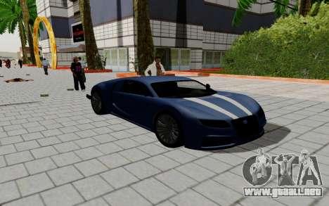Gta 5 Truffade Adder para GTA San Andreas vista hacia atrás