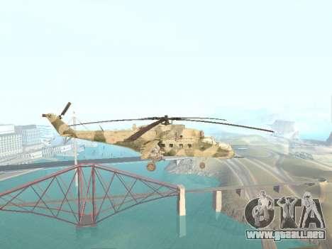 Mi-35M para GTA San Andreas left