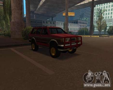 Landstalker V2 para GTA San Andreas