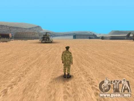 Pak ejército ruso de servicio para GTA San Andreas