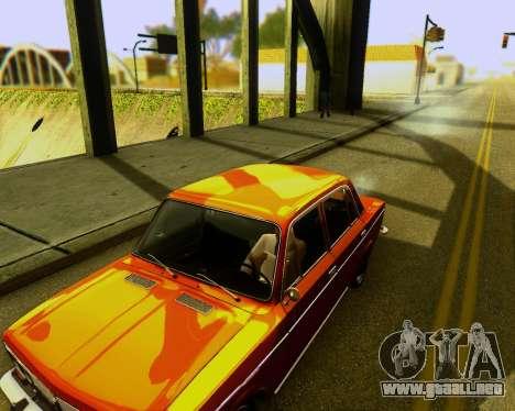 VAZ 2103 Sintonizable para GTA San Andreas vista hacia atrás