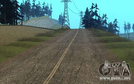 RoSA Project v1.4 Countryside SF para GTA San Andreas octavo de pantalla