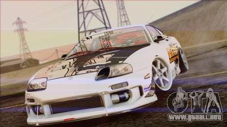 Toyota Supra 1998 Top Secret para la visión correcta GTA San Andreas