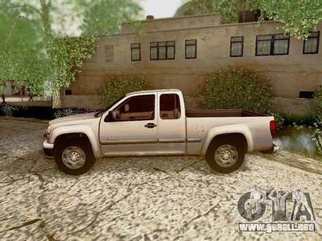 Chevrolet Colorado para el motor de GTA San Andreas