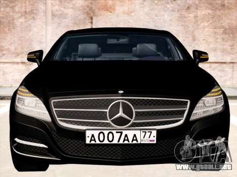 Mercedes-Benz CLS350 2012 para GTA San Andreas left