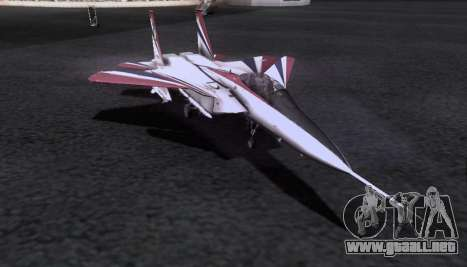 F-15S para vista lateral GTA San Andreas
