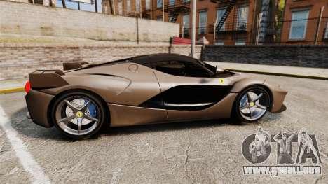 Ferrari LaFerrari v2.0 para GTA 4 left