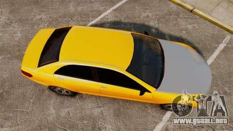 Benefactor Schafter 2014 para GTA 4 visión correcta