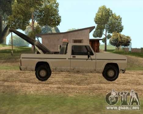 Nuevo Remolque (Sadler) para GTA San Andreas left