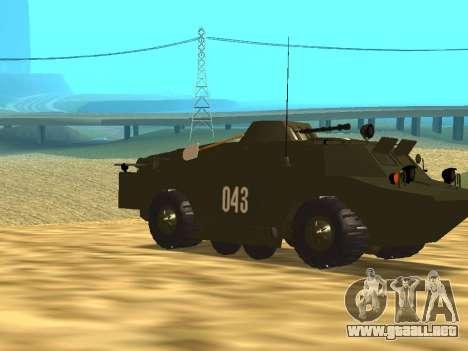 Los guardias de BRDM-2 para visión interna GTA San Andreas
