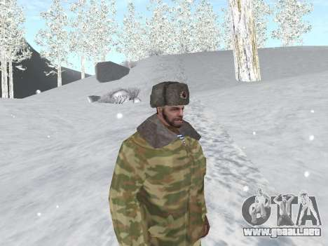 Pak ejército ruso de servicio para GTA San Andreas séptima pantalla