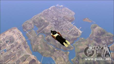 Distance View Mod para GTA San Andreas tercera pantalla