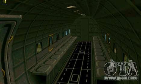 C-47 Dakota RAF para GTA San Andreas vista hacia atrás