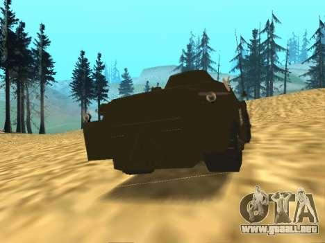 Los guardias de BRDM-2 para la visión correcta GTA San Andreas
