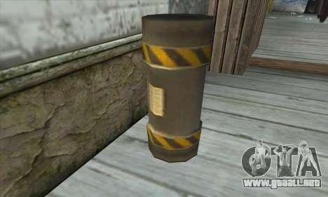 Granate de Ser Nukem para GTA San Andreas tercera pantalla