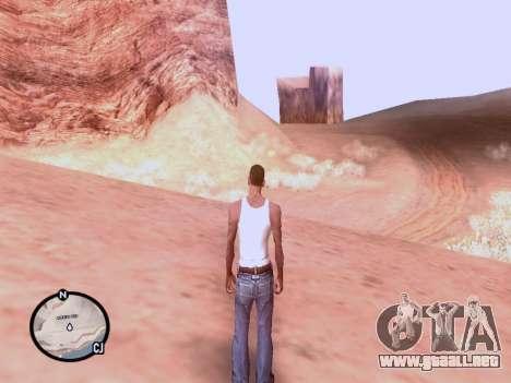 El nuevo mapa en HD para GTA San Andreas tercera pantalla